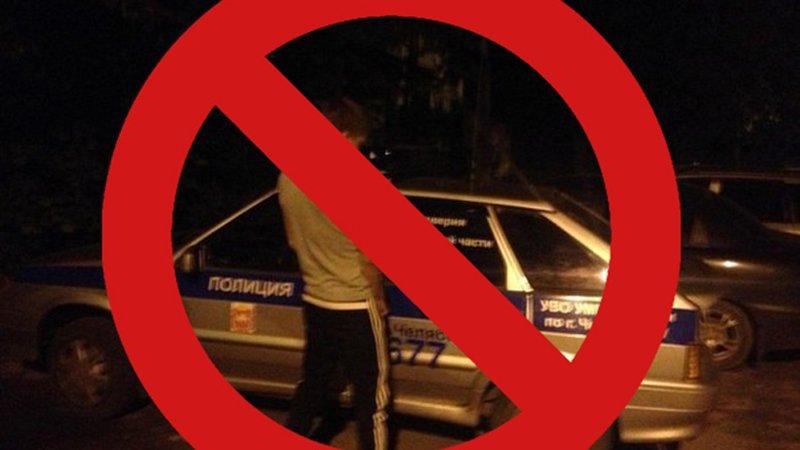 В Казахстане пассажир задержанного авто помочился на автомобиль правоохранителей