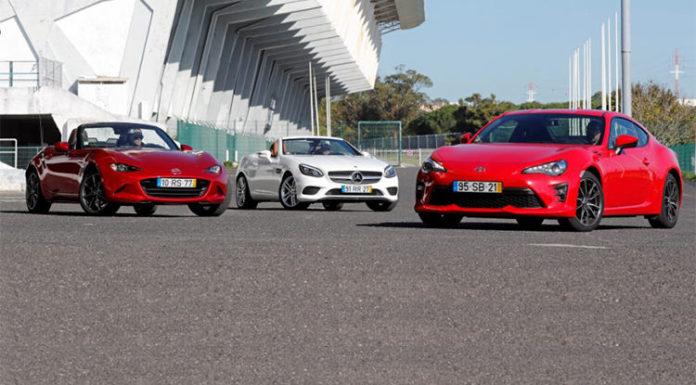 Mazda MX-5, Mercedes-Benz SLC и Toyota GT86 в погоне за драйвом