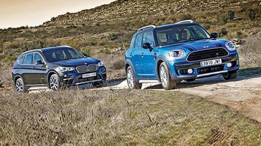 BMW X1 и Mini Countryman: братья или недруги?
