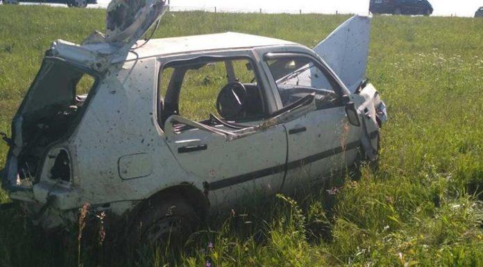 На трассе Минск-Могилев перевернулся автомобиль. Погиб пассажир
