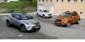 Сравнительный тест автомобилей Honda HR-V, Opel Mokka X и Toyota C-HR