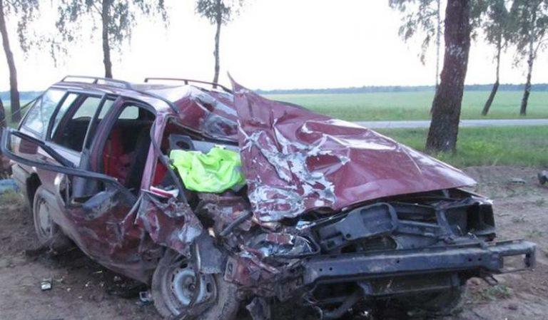 Три человека погибли в ДТП на трассе Копыль-Несвиж