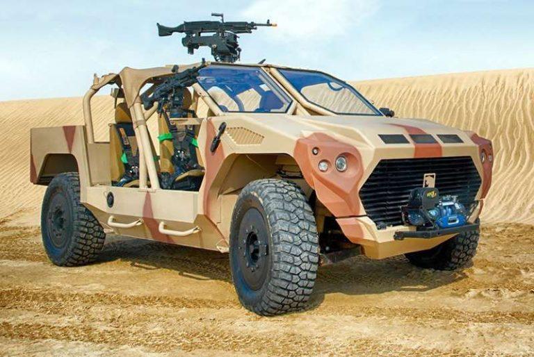Для ОАЭ создали военный внедорожник RIV на агрегатах Maserati