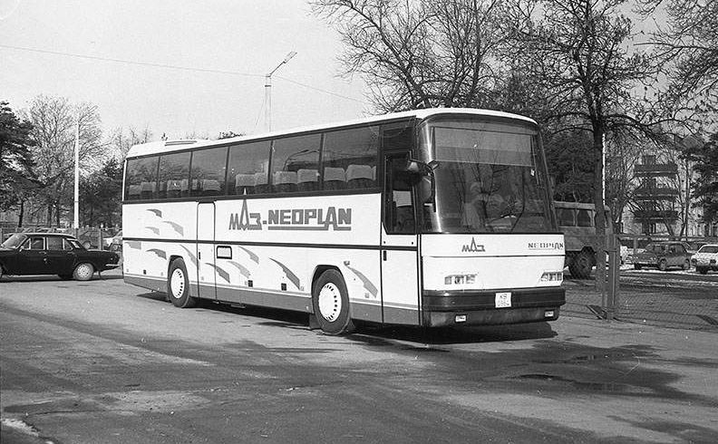 "25 лет автобусному заводу ОАО ""МАЗ"""