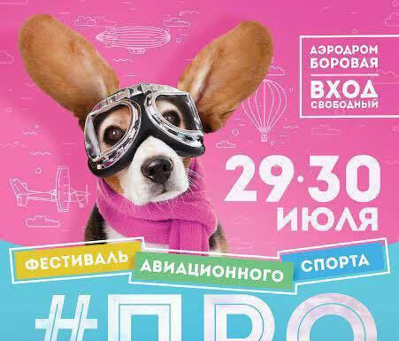фестиваль авиационного спорта #ПРОНЕБО