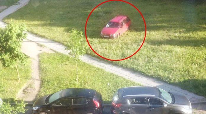 В Уручье пьяная девушка-водитель повредила 5 автомобилей