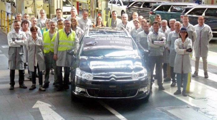 Citroen прекратил выпуск в Европе модели С5
