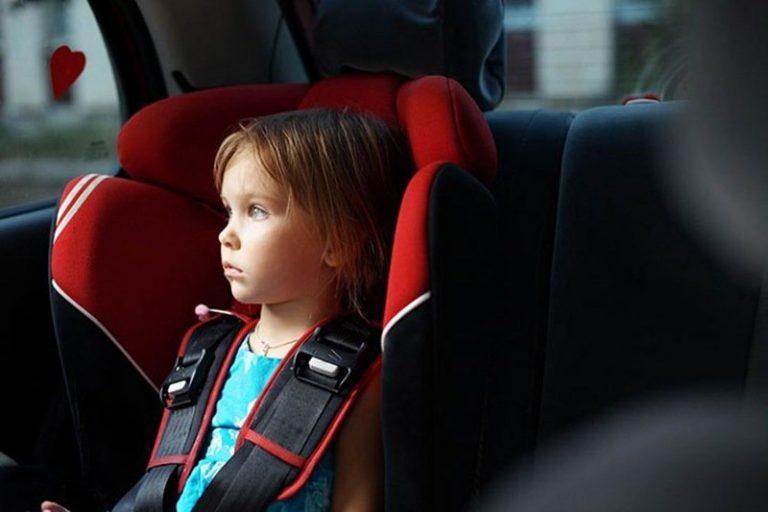 Дети в автомобиле более подвержены воздействию токсичных газов
