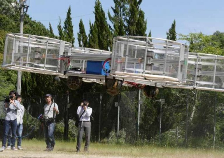 Начались первые испытания летающего автомобиля Toyota