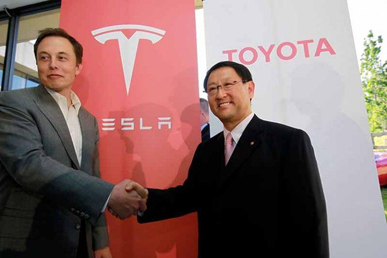 Toyota прекратила сотрудничество с Tesla