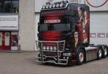 Scania тюнинговали кристаллами Swarowski