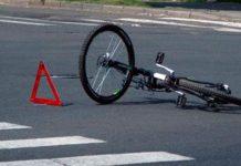 Под Витебском грузовик сбил девочку-велосипедистку