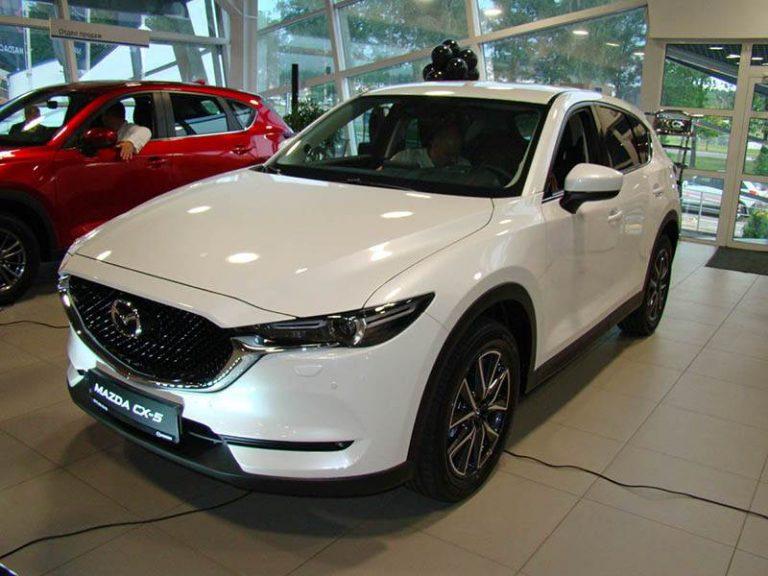 Озвучена белорусская цена нового Mazda CX-5