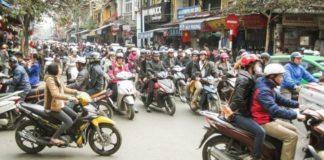В Ханое собираются полностью запретить мотоциклы к 2030 году