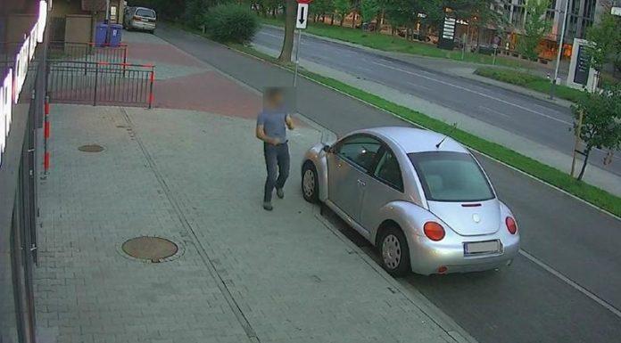 В Польше гражданин РФ повредил 40 автомобилей
