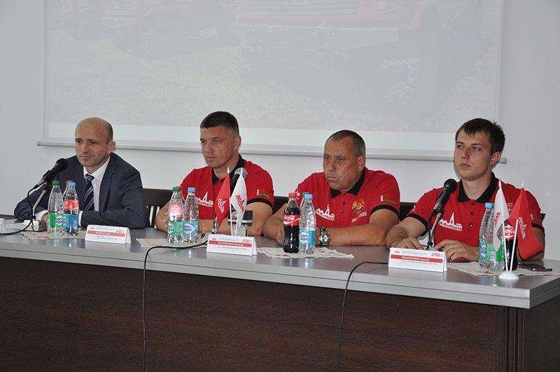 """""""Шелковый путь-2017"""", пресс-конференция на МАЗе"""