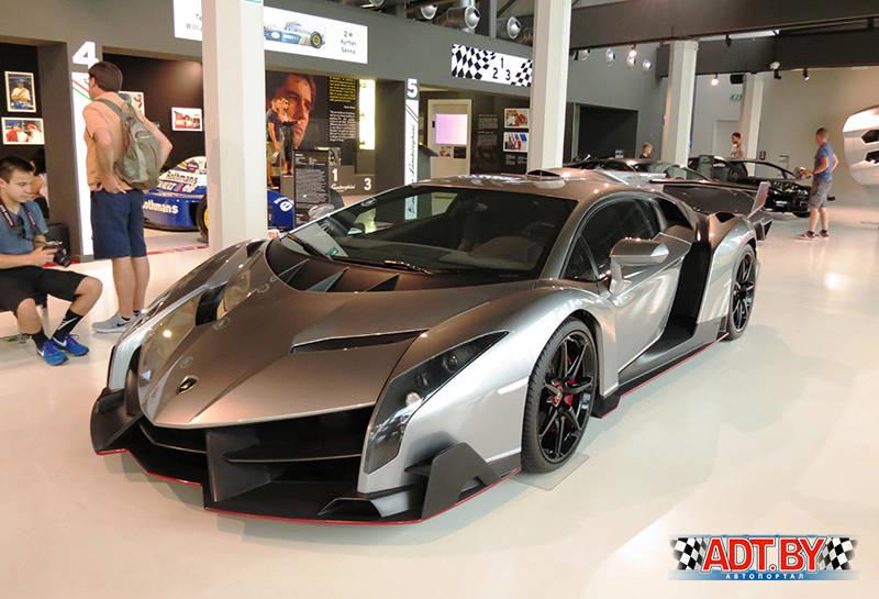 Италия, Lamborghini и SKF в одном флаконе. Lamborgini Veneno