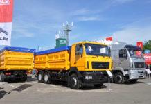 МАЗ-6501С9 - новый зерновоз Минского автозавода