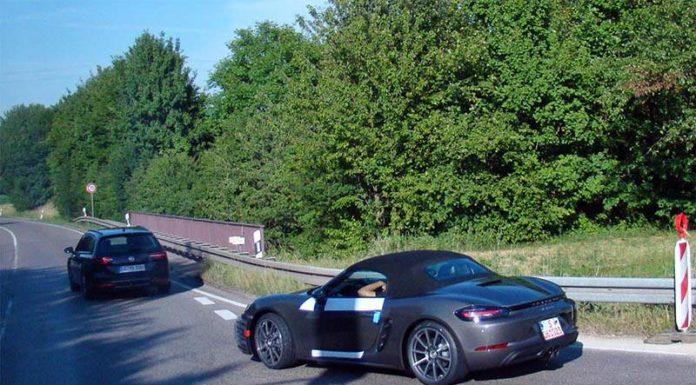 Обновленный Porsche Boxster: эксклюзивное фото