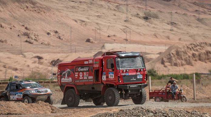 Все МАЗы попали в ТОП-10 после 6400 км «Шёлкового пути»