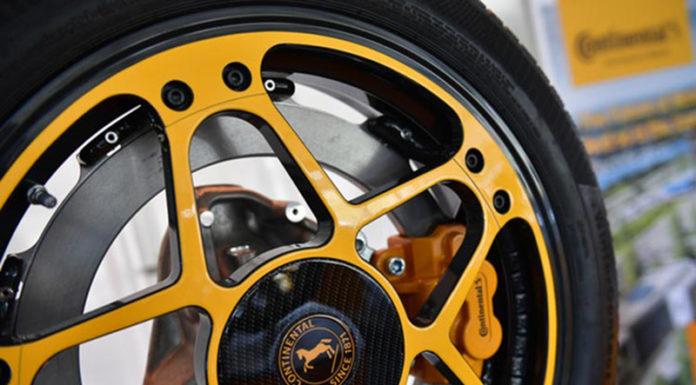 Компания Continental представляет инновационную концепцию колес и тормозов для электромобилей