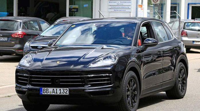 Porsche больше не скрывает новый Cayenne