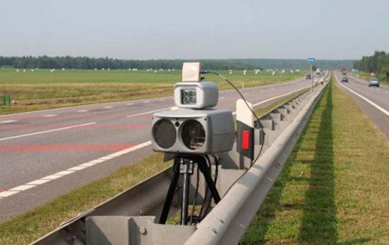 ГАИ информирует о размещении датчиков контроля в августе