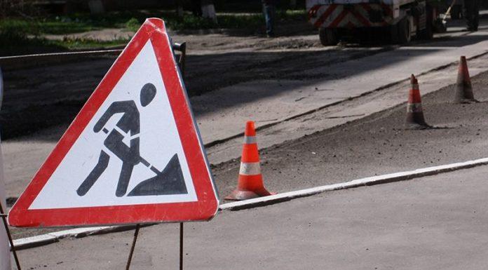 ГАИ информирует о ремонтных работах на ул.В.Хоружей