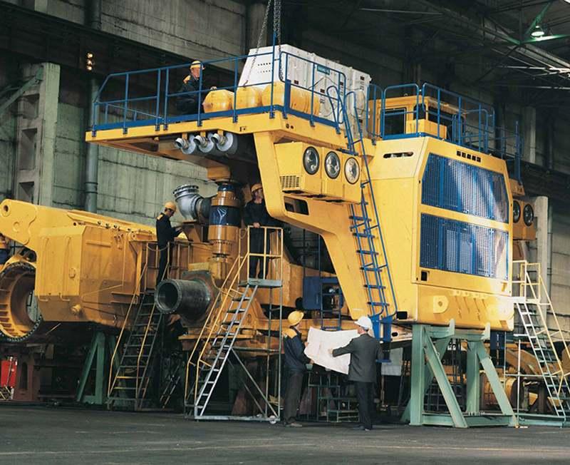 Производство БелАЗ
