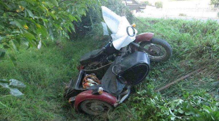 В Кобрине произошло ДТП с участием мотоцикла. Погибла пенсионерка.
