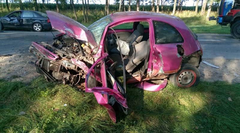 В Узденском районе в ДТП попали 3 автомобиля