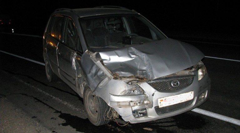 В Борисовском районе сбит молодой человек, толкавший автомобиль