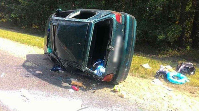 В Малоритском районе в ДТП пострадали двое детей
