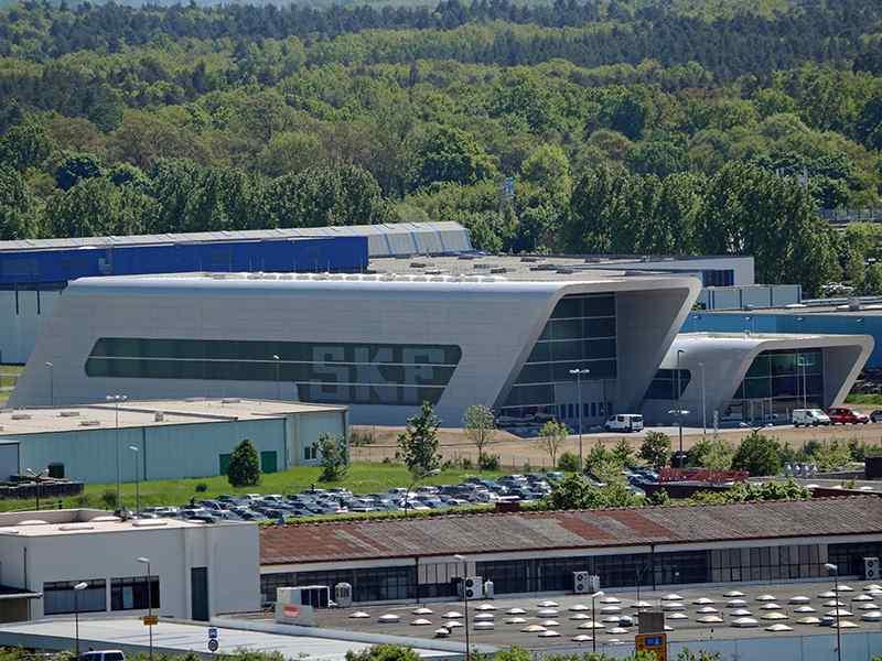 SKF открывает новый европейский центр автомобильных запчастей