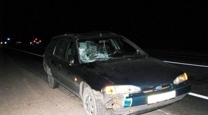 В Борисовском районе насмерть сбита женщина