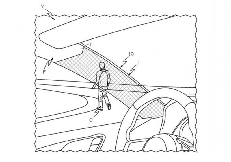 Toyota запатентовала прозрачные передние стойки