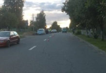 В Волковыске 6-ти летний мальчик попал в ДТП