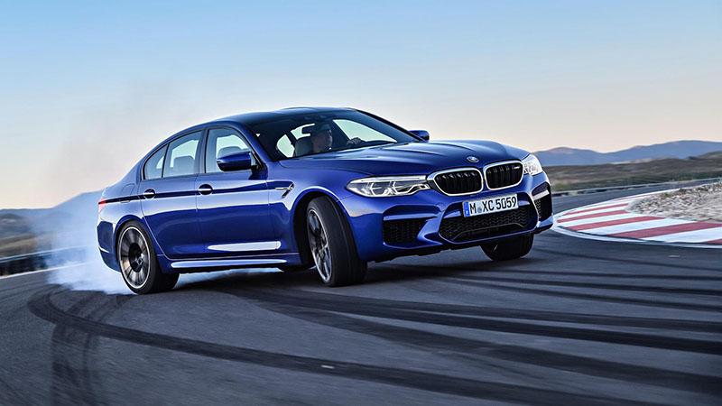 Новый BMW M5: 600 л.с. и 3,4 секунды до «сотни»