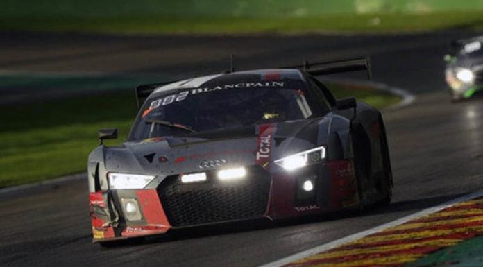 Команда Audi выиграла гонку 24 Hours Of Spa
