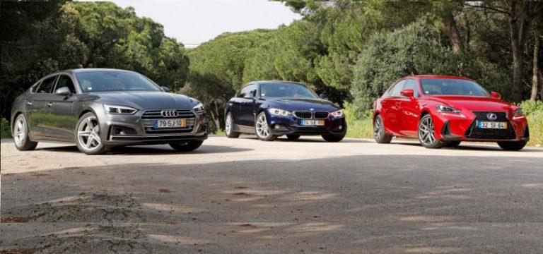 Audi A5 Sportback, BMW 4 Gran Coupe и Lexus IS: спортивные семьянины