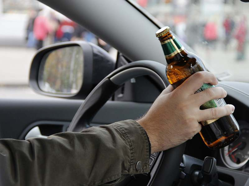 В Минске пассажир сел за руль и пытался скрыться от ГАИ