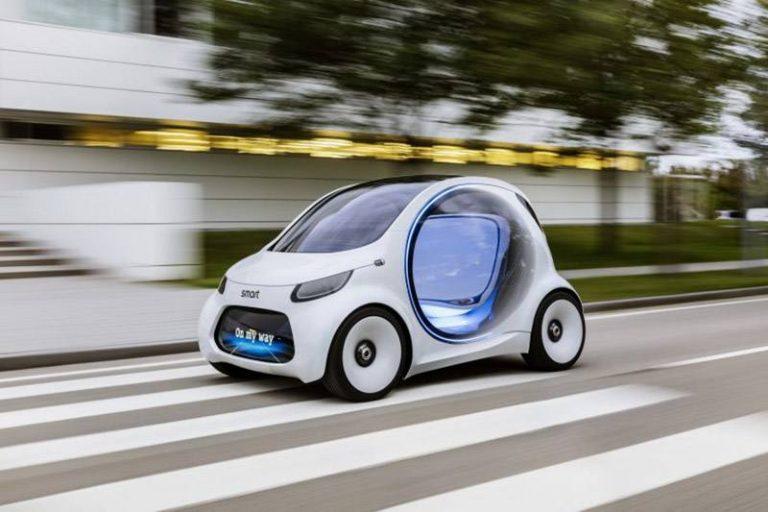 SMART представил полностью автономный концепт