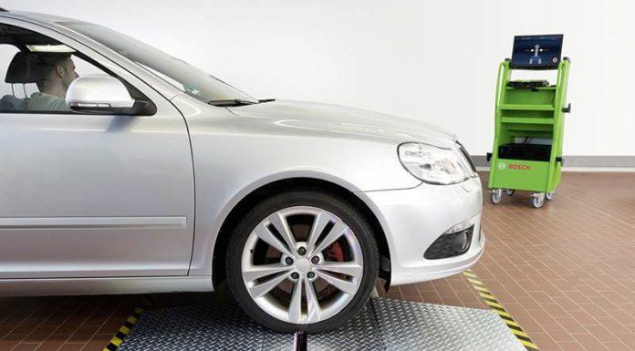 Новое оборудование от Bosch для оценки состояния протектора шин