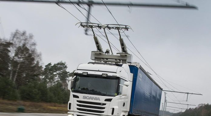 В Германии появится дорога с контактной сетью для зарядки электрогрузовиков