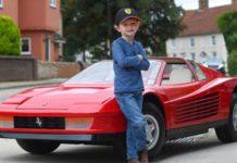 В Британии продают детский Ferrari по недетской цене