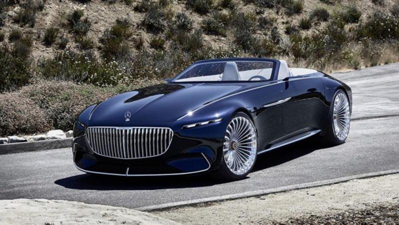 Mercedes представил шикарный кабриолет