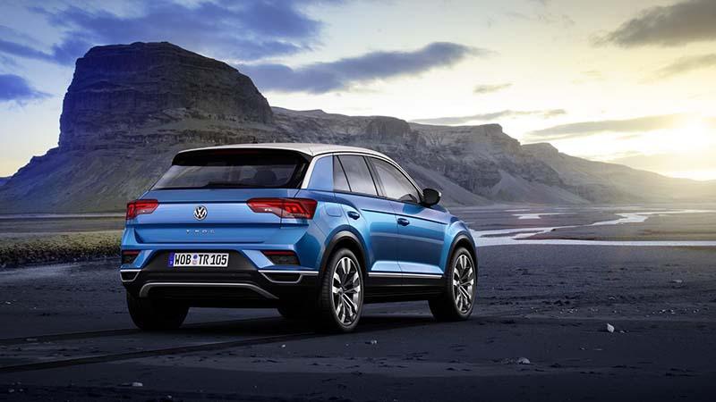 У Volkswagen появился городской кроссовер