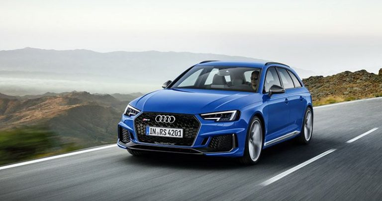 Audi RS4 Avant получил мотор от Porsche Panamera