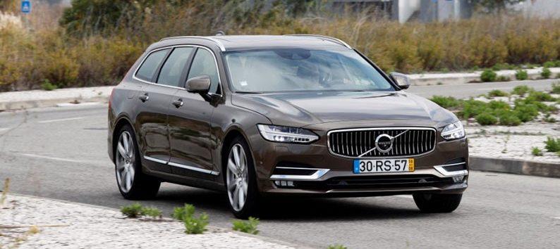 Audi A6 Avant, Mercedes E-Class Estate и Volvo V90: люксовые «сараи»