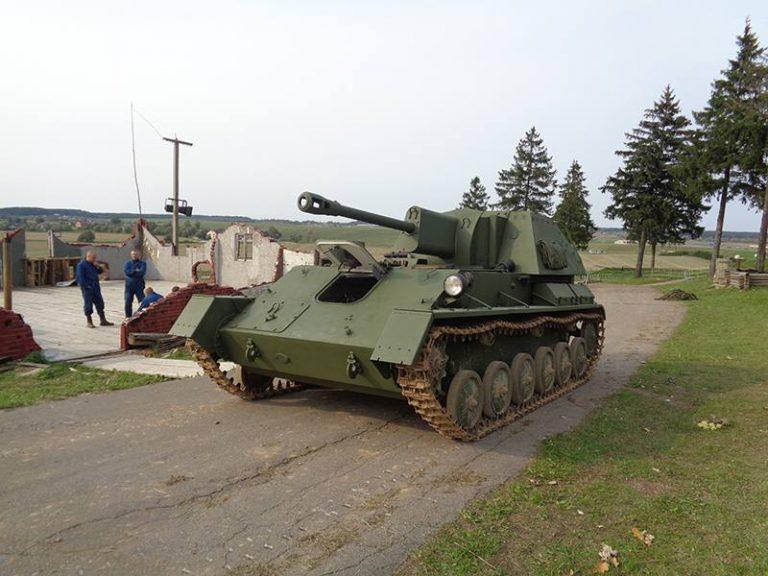 """СУ-76М – новая реплика на """"Линии Сталина"""""""
